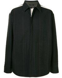 OAMC Temple キルティング シャツジャケット - ブラック