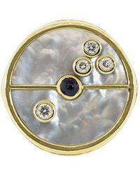 Retrouvai - Compass シグネットリング 14kイエローゴールド - Lyst
