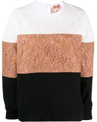 N°21 カラーブロック スウェットシャツ - マルチカラー