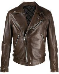 Tom Ford ライダースジャケット - ブラウン