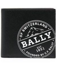 Bally Бумажник С Логотипом - Черный