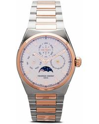 Frederique Constant Наручные Часы Highlife Perpetual Calendar 41 Мм - Металлик