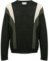 Wooyoungmi - Panelled Sweater - Lyst