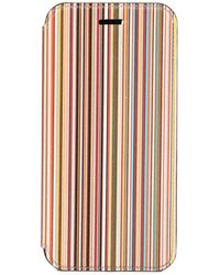 Paul Smith Signature Stripe Iphone 7/8 Case - Yellow
