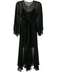 EVA Knot Midi Dress - Black
