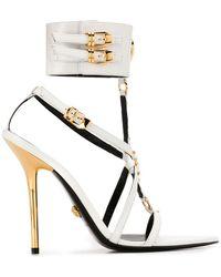 Versace - Sandalen Met Spitse Neus - Lyst