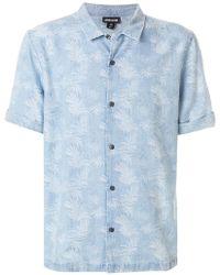 Just Cavalli - Short Sleeved Shirt - Lyst