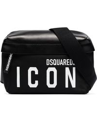 DSquared² - Поясная Сумка С Принтом Icon - Lyst