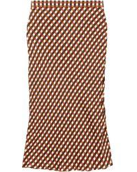 PROENZA SCHOULER WHITE LABEL スリップスカート - マルチカラー