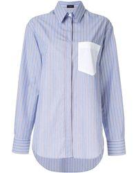 JOSEPH - ストライプ パッチポケットシャツ - Lyst