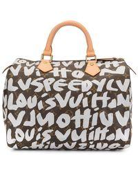 Louis Vuitton - プレオウンド スピーディ 30 ハンドバッグ - Lyst
