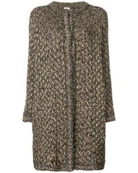M Missoni - Embroidered Fitted Coat - Lyst