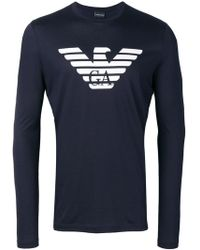 Emporio Armani - Logo Sweatshirt - Lyst