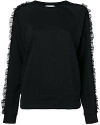 Dondup - Ruffle Trim Sweatshirt - Lyst