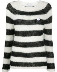Societe Anonyme ストライプ セーター - ブラック