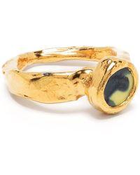 Nick Fouquet Round Charm Ring - Metallic