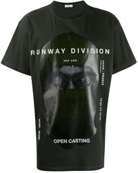 ih nom uh nit T-shirt imprimé - Vert