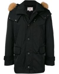 Peuterey - Hooded Down Jacket - Lyst