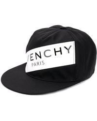 Givenchy Snapback Pet Met Logo - Zwart