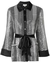 Temperley London Platinum Shirt - Black