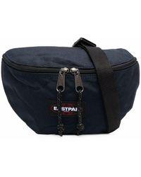 Eastpak ロゴパッチ ベルトバッグ - ブルー