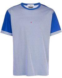 Stone Island Striped T-shirt - Blue