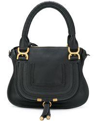 Chloé Marcie Tote Bag - Black