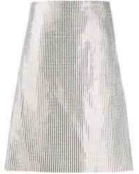 Bottega Veneta Aライン スカート - マルチカラー