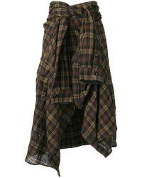 Faith Connexion - High-waisted Shirt-skirt - Lyst