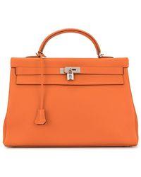 Hermès 'Kelly 40' Handtasche - Orange