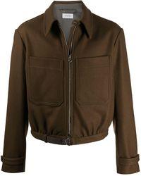 Lemaire ツイルジャケット - ブラウン