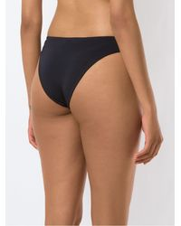 Haight Bas de bikini en crêpe - Noir
