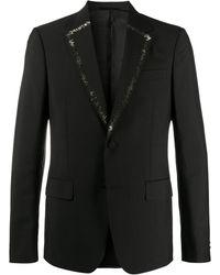 Roberto Cavalli Декорированный Пиджак - Черный