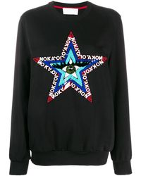 NO KA 'OI Bead Embroidered Sweatshirt - Black