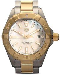 Tag Heuer Наручные Часы Aquaracer Chronograph 28 Мм - Белый