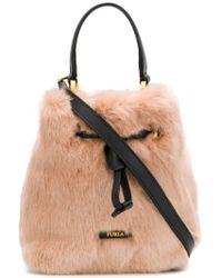 Furla - Stacy Nuvola Medium Bucket Bag - Lyst
