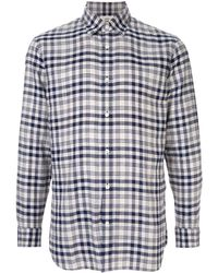 Kent & Curwen - チェックシャツ - Lyst