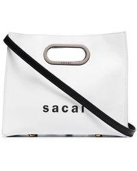Sacai New Shopper トートバッグ - マルチカラー