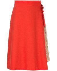 Loveless - Wrap A-line Skirt - Lyst