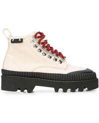 Proenza Schouler Lug Sole Boots - Natural
