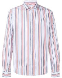 Sun 68 - Cam Ratlla Shirt - Lyst