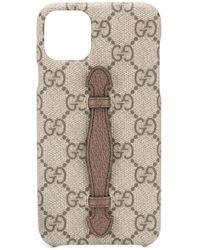 Gucci Iphone 11 Pro Max Hoesje - Bruin