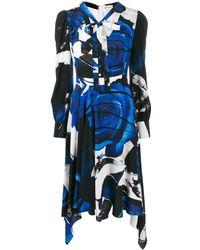 Alexander McQueen - グラフィック ドレス - Lyst