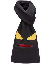 Fendi Bag Bugs Sjaal - Zwart