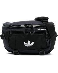 adidas Embroidered Logo Belt Bag - Black