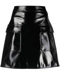 Love Moschino ハイライズ ミニスカート - ブラック