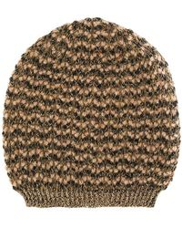 Twin Set - Knitted Beanie - Lyst