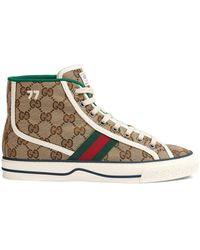 Gucci Высокие Кеды Tennis 1977 - Многоцветный