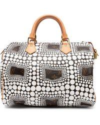 Louis Vuitton Сумка Monogram Town Speedy 30 2012-го Года - Белый