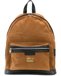 Zadig & Voltaire Jordan Contrast-trimmed Suede Backpack - Brown